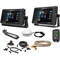 Lowrance HDS-9 LIVE / HDS-12 LIVE Boat in a Box Bundle