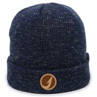 TackleDirect Cuffed Beanie with TD Logo Patch - Navy