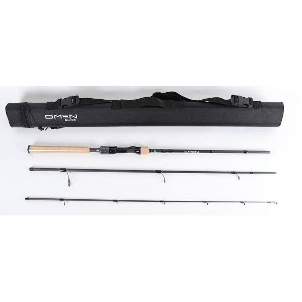 13 Fishing OB2S71M-T Omen Black A Series Travel Spinning Rod