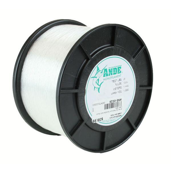 Ande Premium Mono 1 Lb. Spool 30 Lb. Test Clear