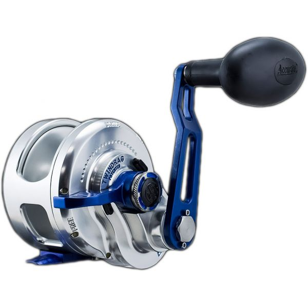 Accurate BX-600NNLBLS Boss Extreme Single Speed Left Hand Reel