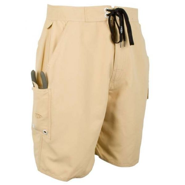 Aftco M07 Waterman Boardshorts - Khaki - Size 32