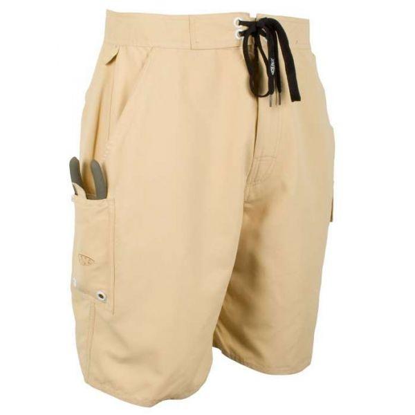 Aftco M07 Waterman Boardshorts - Khaki - Size 34