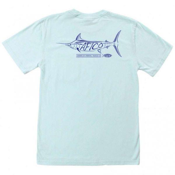 AFTCO MT7111 Bill's Fish Pocket T-Shirt - Medium