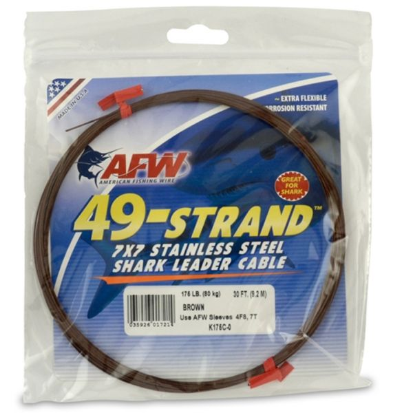 American Fishing Wire 49-Strand K175C-0