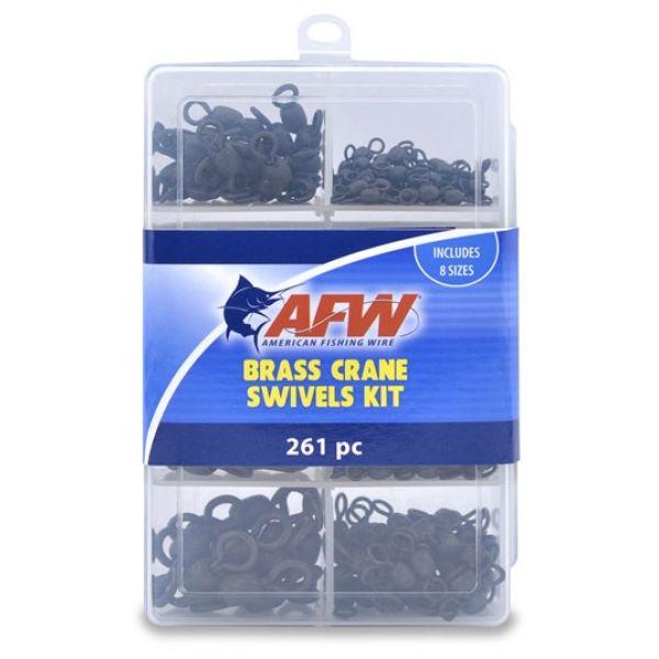 AFW TKB00004 Brass Crane Swivels Kit, 261 Pieces