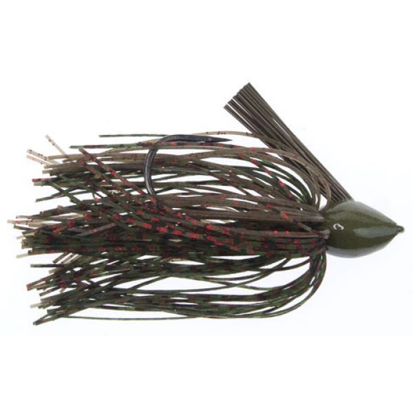 All-Terrain Tackle Grassmaster Jig Lure 3/4oz Watermelon Red