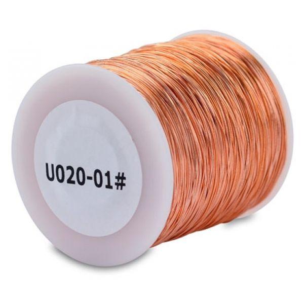 American Fishing Wire U020/01# Copper Rigging Wire 792ft 1lb Spool