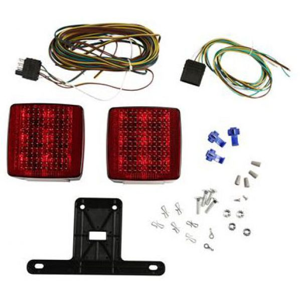 Attwood 14065-7 LED 4 in. Submersible Trailer Light Kit