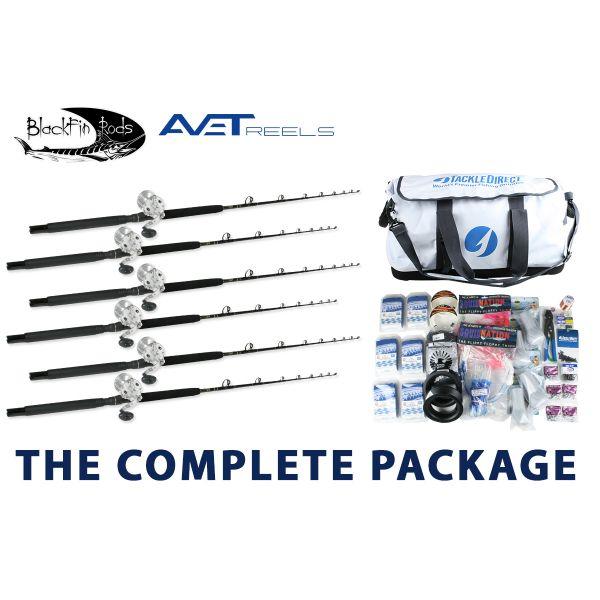 Avet/Blackfin White Marlin Complete Package