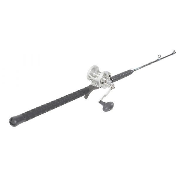 Avet G2 MXL Silver / TackleDirect TDSCJ66MH Conventional Jigging Combo
