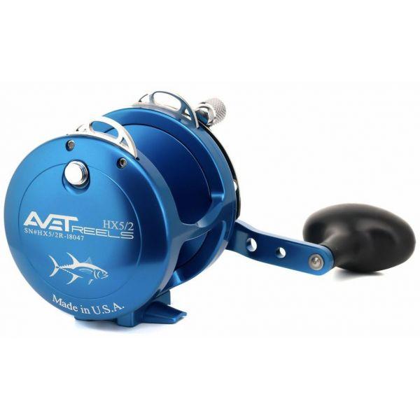 Avet HX 5/2 L/H Two-Speed Lever Drag Casting Reels Left-Hand