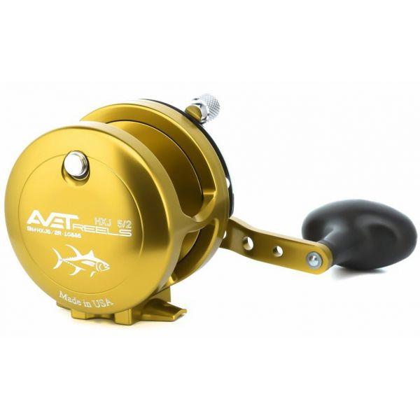 Avet HXJ 5/2 2-Speed Lever Drag Casting Reel - Left-Hand