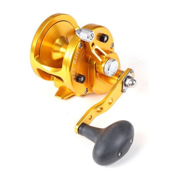 Avet JX 60 Single Speed Sailfish Cam Reel - Gold