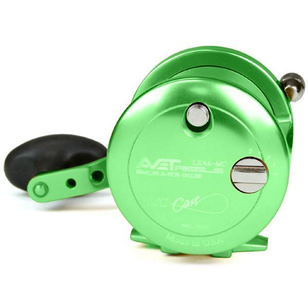 Avet LX 4.6 MC Single Speed Lever Drag Casting Reel Green