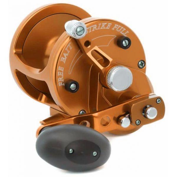 Avet LX 6/3 MC 2-Speed Lever Drag Casting Reel - Orange