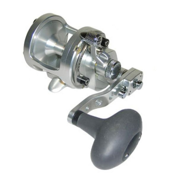 Avet SXJ 6/4 MC 2-Speed Lever Drag Casting Reel Silver