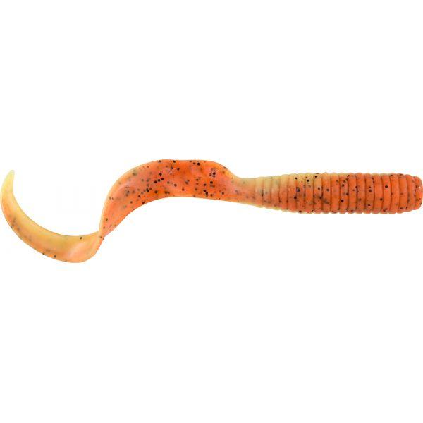 Berkley Gulp! Saltwater Grub - 6 in. - Orange Tiger
