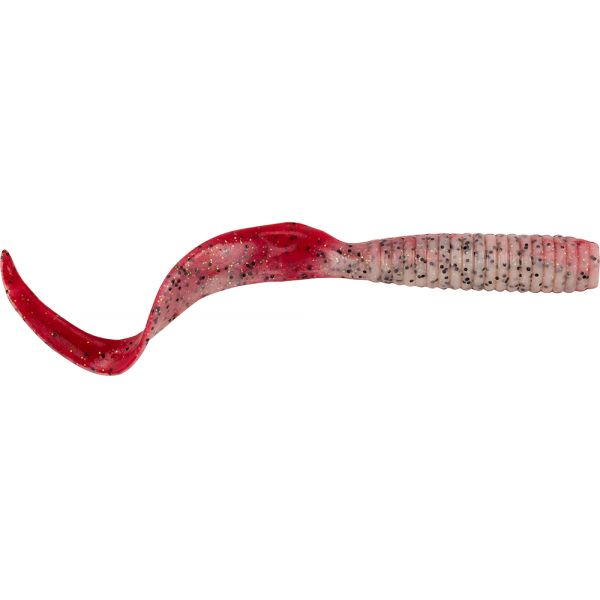 Berkley Gulp! Saltwater Grub - 6 in. - Red Belly Shrimp