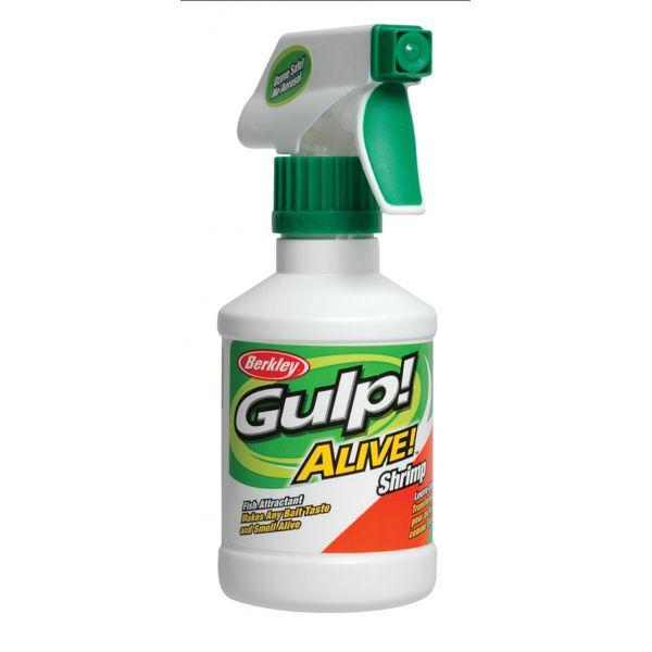 Berkley GSP8-SHP Gulp Alive Shrimp Scented Attractant Spray
