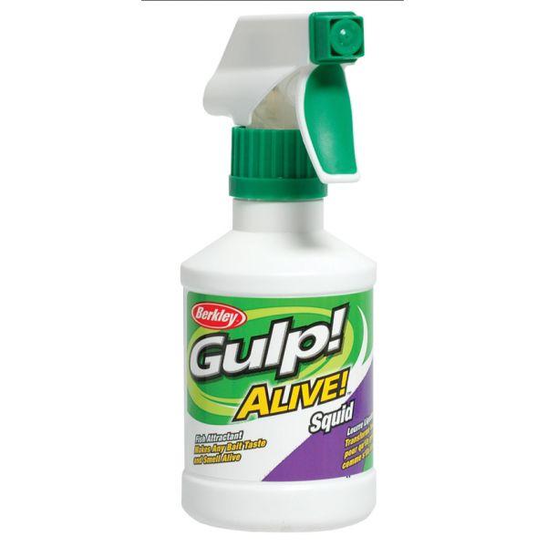 Berkley GSP8-SQ Gulp Alive Squid Scented Attractant Spray