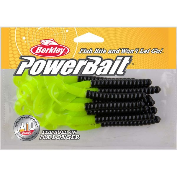 Berkley PBBPW7 Powerbait Power Worm Soft Bait - 7in Blue Fleck