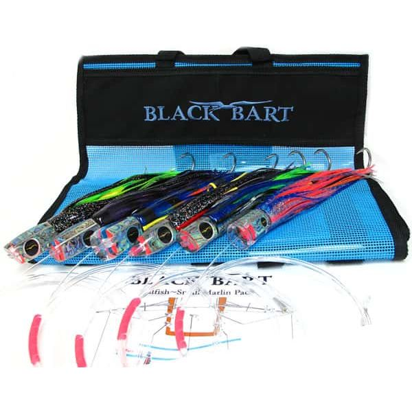 Black Bart Lures, Rigged with Trolling Double Hooks