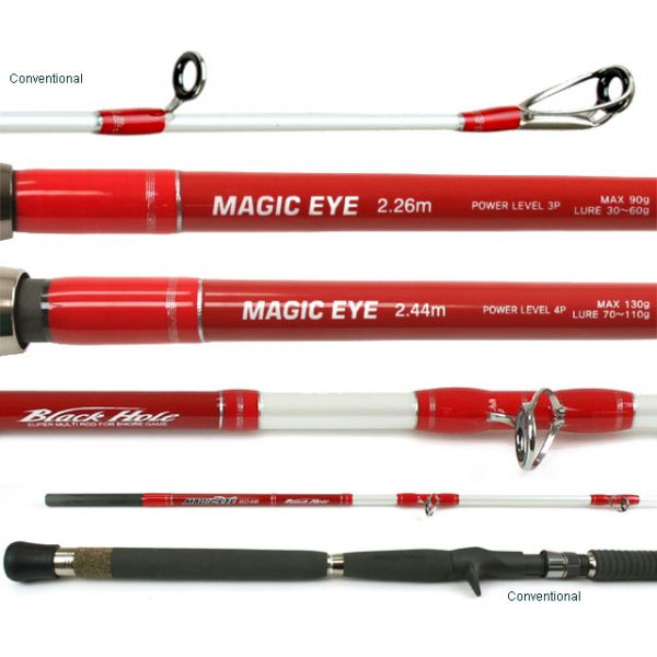 Black Hole Magic Eye Popping Rods