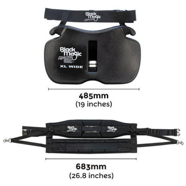Black Magic Equalizer XL Wide Gimbal & Standard Harness Set