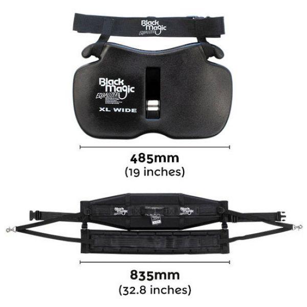 Black Magic Tackle Equalizer XL Wide Gimbal & Harness Set