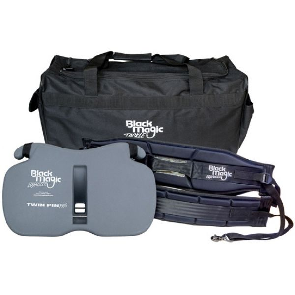Black Magic Tackle Equalizer Twin Pin Pro Gimbal & XL Wide Harness Set