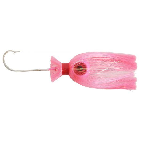 Mojo Trolling Striper Rockfish Nylon 12//0 Mustad Hook Shad Lure Pink//Char