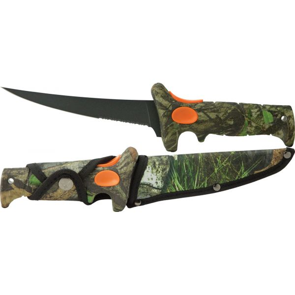 Bubba 6 in. Turkinator Knife - Mossy Oak