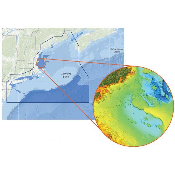 C-MAP Reveal - US Atlantic - New York to Massachusetts