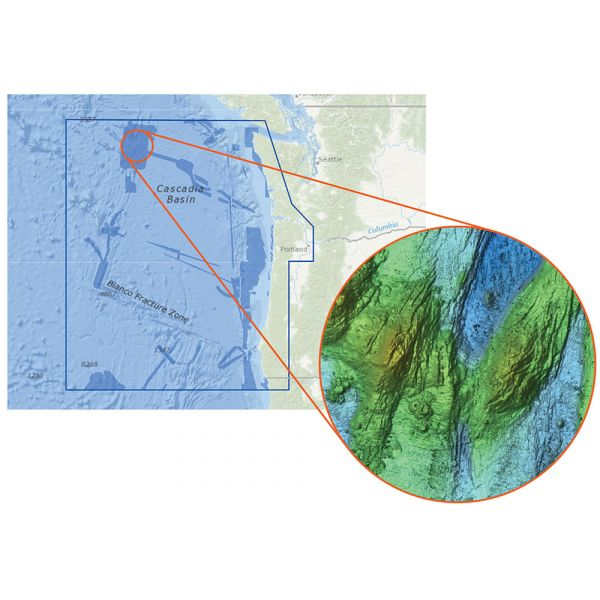 C-MAP Reveal - US Pacific - South Oregon to North Washington