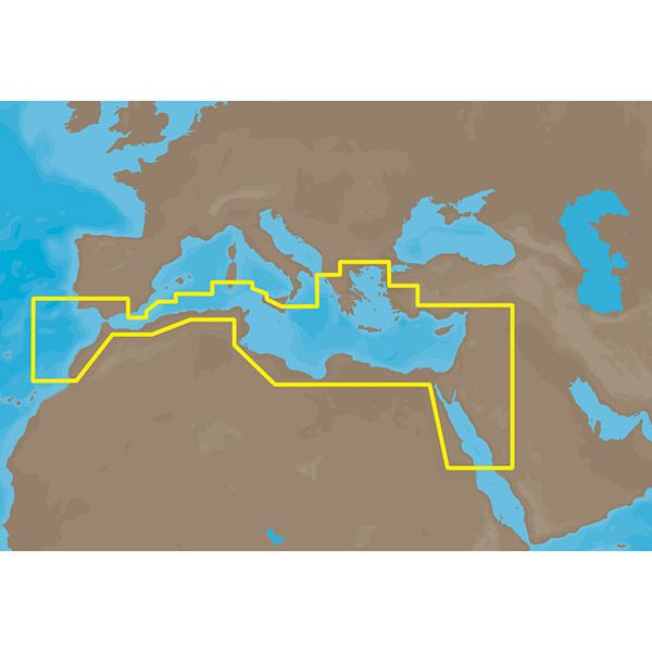 C-Map MAX Electronic Marine Chart - S Mediterranean Sea / Aegean Sea