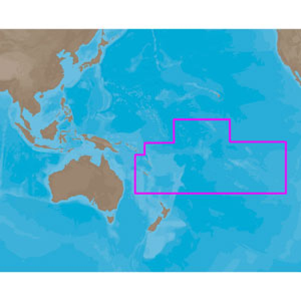 C-Map MAX Electronic Marine Charts - Pacific Islands