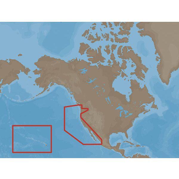 C-Map MAX Electronic Marine Charts - Western United States