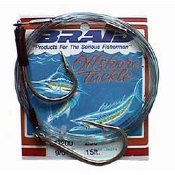 Braid Cable Double Hook Rig 18 ft. 300