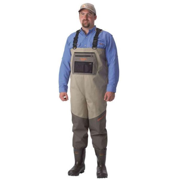 Caddis EcoSmart II Bootfoot Extreme 5-Ply Breathable Chest Waders - 10
