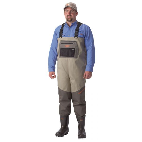 Caddis EcoSmart II Bootfoot Extreme 5-Ply Breathable Chest Waders