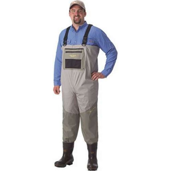 Caddis Deluxe Breathable Bootfoot Waders w/ Eco Smart II Sole - Stout