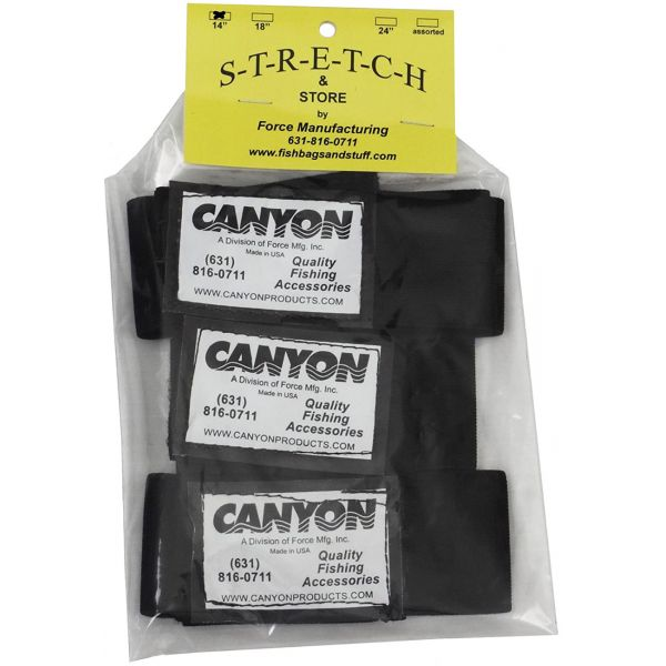 Canyon S-24 Stretch & Store Wraps - 24 in. - 3 Pack