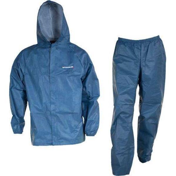 Compass360 EL12304-21 Eco-Lite Youth Rain Suit - Blue - Size Small