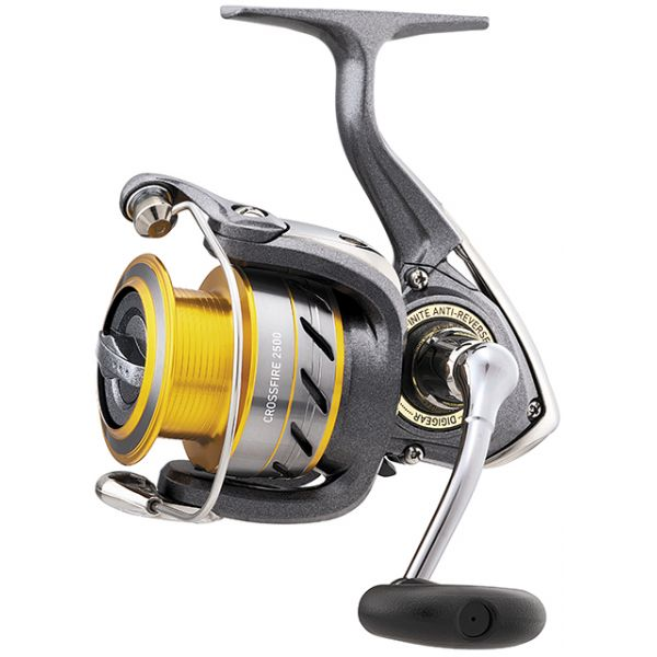 4000 Spinning Reel 2500 Front Drag Daiwa Crossfire 2000