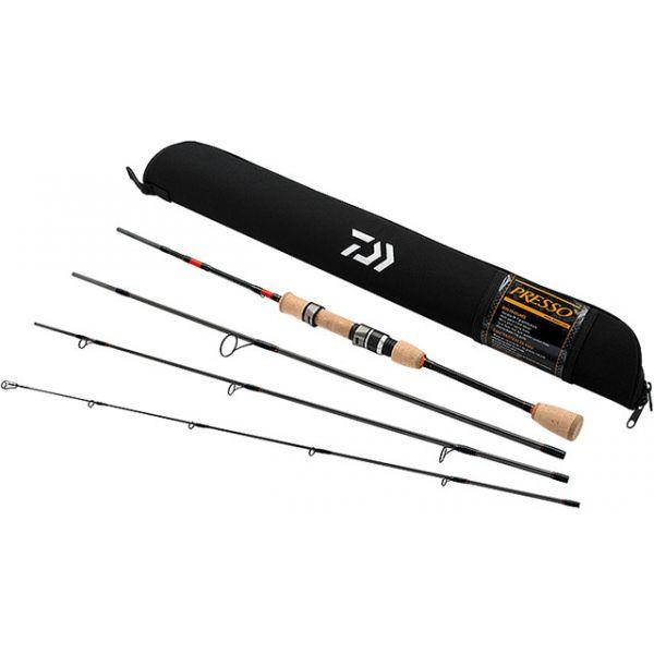 Daiwa PSO704ULFS-TR Presso Ultralight 4pc Pack Spinning Rod