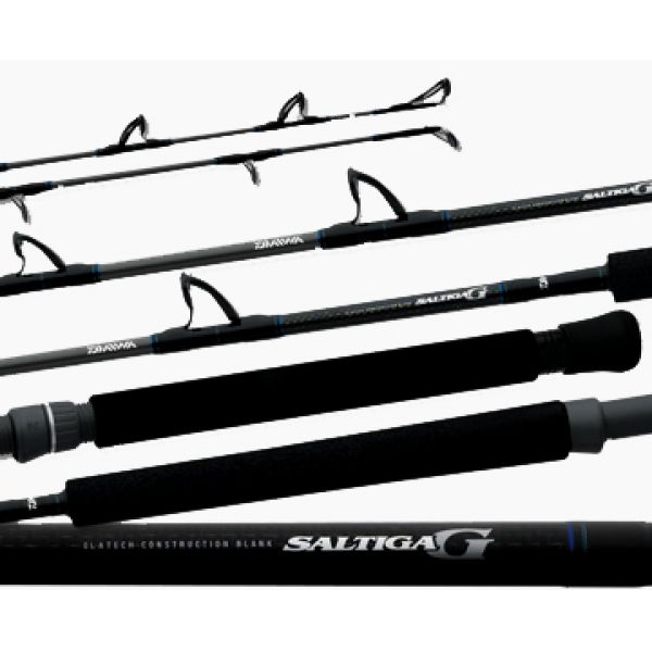 Daiwa SAG-J60MHF Saltiga G Boat Jigging Conventional Rod