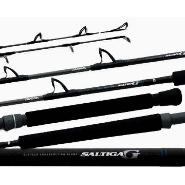 Daiwa SAG-J60MHFS Saltiga G Boat Jigging Spinning Rod