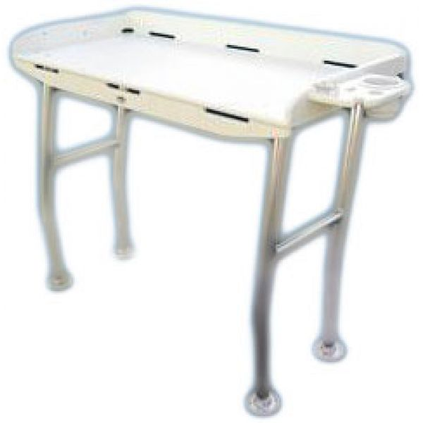 Deep Blue FT48OH Dockside Fillet Table - 48in x 21in - Overhang Legs