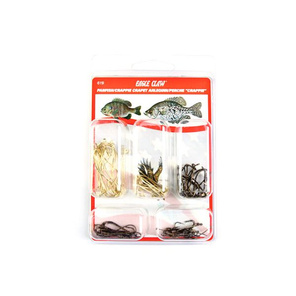 Eagle Claw 619H Panfish/Crappie Hook Assortment